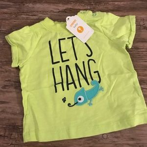 Gymboree Let's Hang Tee Size 3-6 Months